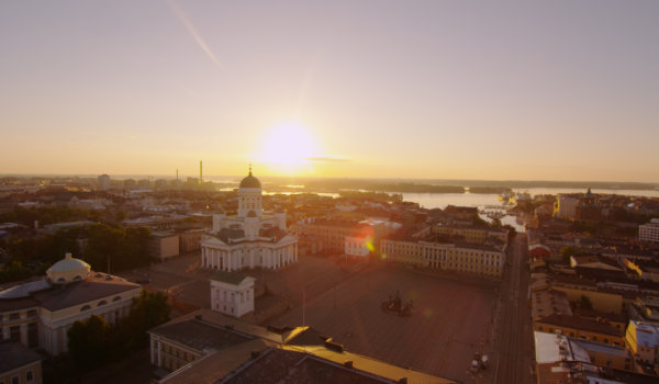 Hotel Haven is situated in central Helsinki, close to Kauppatori and Senaatintori