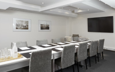 Hotel Haven's meeting room Haven 4 is a versatile space with a maximum capacity of 16 people