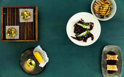 Ultima is a restaurant in Helsinki that takes hyperlocal produce to a new level​.