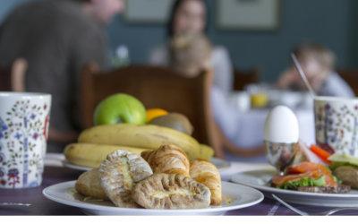 Ravintola Haven tarjoaa upean aamiaisen joka päivä