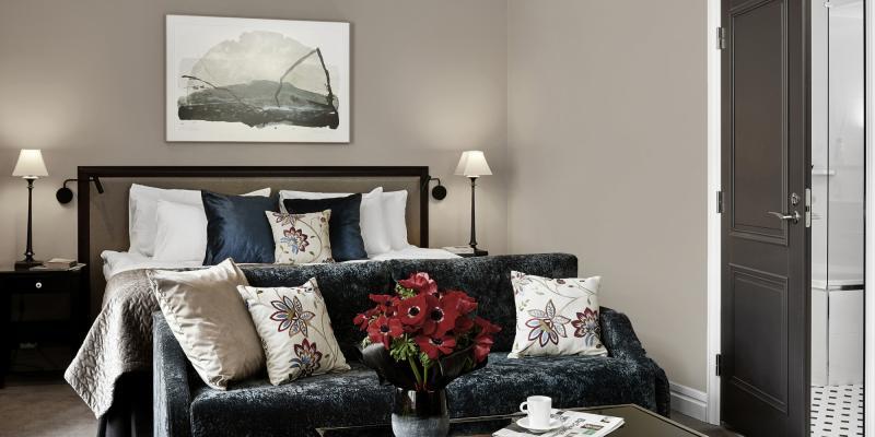 Kun vaadit huoneeltasi paljon, avara ja tunnelmallinen Grand Deluxe on täydellinen valinta.