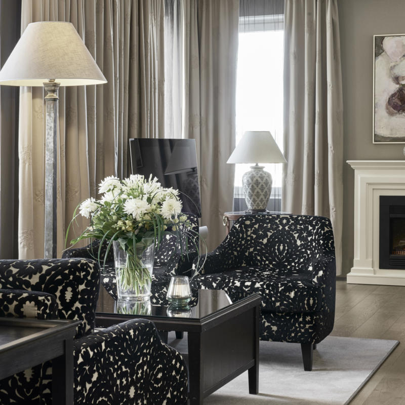 Town Square Suite is equipped with special features to guarantee an unforgettable visit to Helsinki.